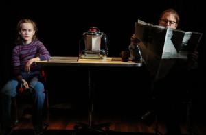 "Sydney Lucas and Michael Cerveris in ""Fun Home"""
